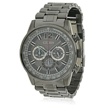 Citizen Eco-Drive Black Stainless Steel Chronograph  CA4377-53H
