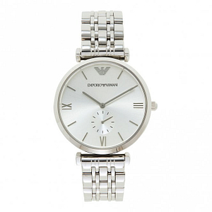 Armani AR1819 Silver Stainless Steel Mens Watch