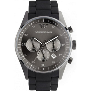 Armani AR5889 Black Sport Men's Steel Watch