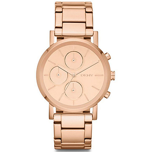 DKNY Rose Gold-Tone Chronograph Ladies Watch NY8862