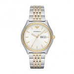 Armani AR11034 Gold & Silver Stainless Steel Men's Watch