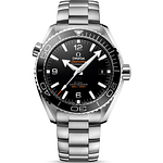 Omega Seamaster Planet Ocean 600M CO-Axial Master Chronometer Steel On Steel Black