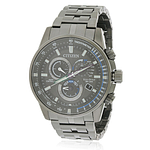 Citizen Eco-Drive Black Stainless Steel Chronograph  AT4127-52H