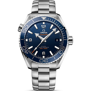 Omega Seamaster Planet Ocean 600M CO-Axial Master Chronometer Steel On Steel Blue