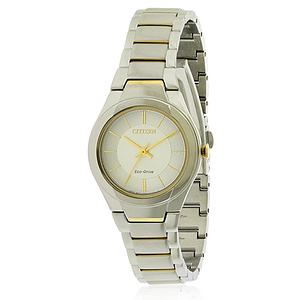Citizen Eco-Drive Paradigm Two-Tone Ladies Watch FE2094-51A