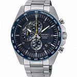 Seiko SSB321P1 Blue & Silver Stainless Steel Chronograph Watch