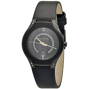 Skagen Black Label Swiss Ladies Watch 886SBLB