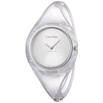 Calvin Klein Transparent Ladies Watch K4W2SXK6