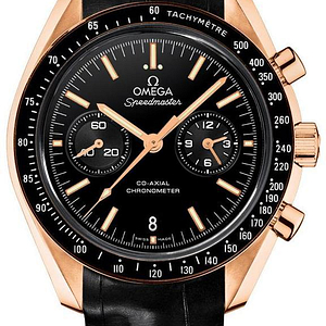 Omega Speedmaster Moonwatch CO-Axial Chronograph Orange Gold