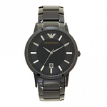Armani AR11079 Black Stainless Steel Men's Watch